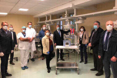 Donazione respiratore polmonare all'Ospedale Uboldo di Cernusco s/N