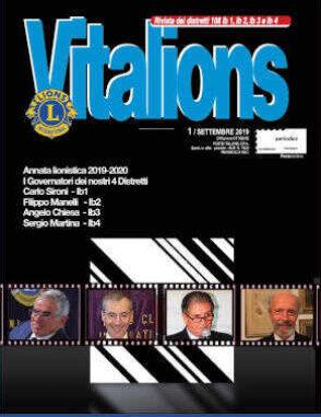 VitaLions settembre 2019